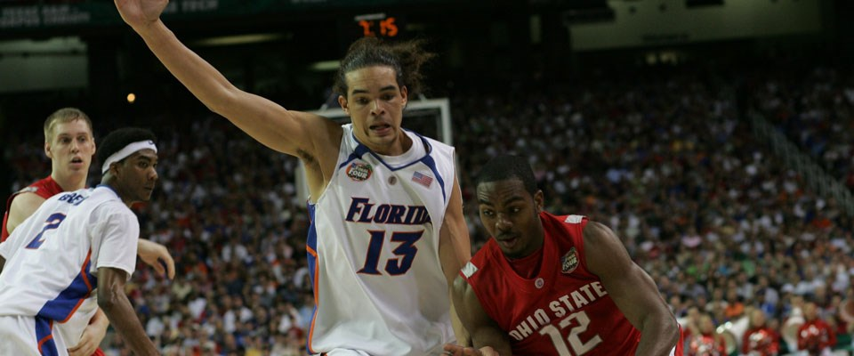887136d2a7a Noah and 2006-07 Men's Basketball Team Honored by NCAA - Florida Gators