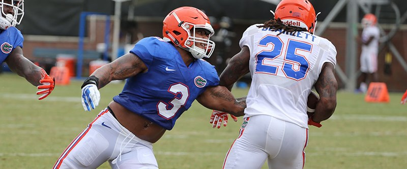 f02426ddbaf9 Gators LB Antonio Morrison   I never got in a dark place  injuries are part  of the game  - Florida Gators
