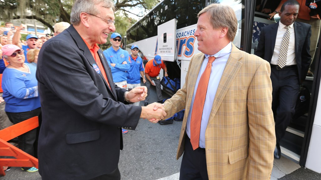 In The (Gator) Zone: McElwain at Gator Day, Horford's All