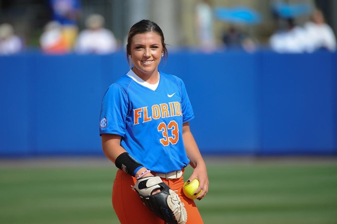 Delanie Gourley Named USA Softball National Player of the Week