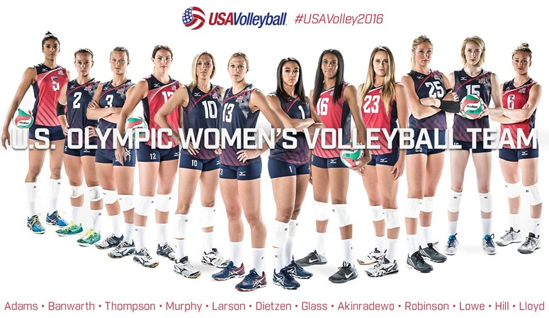 Kelly Murphy Will Represent Usav At Olympic Games In Rio Florida Gators