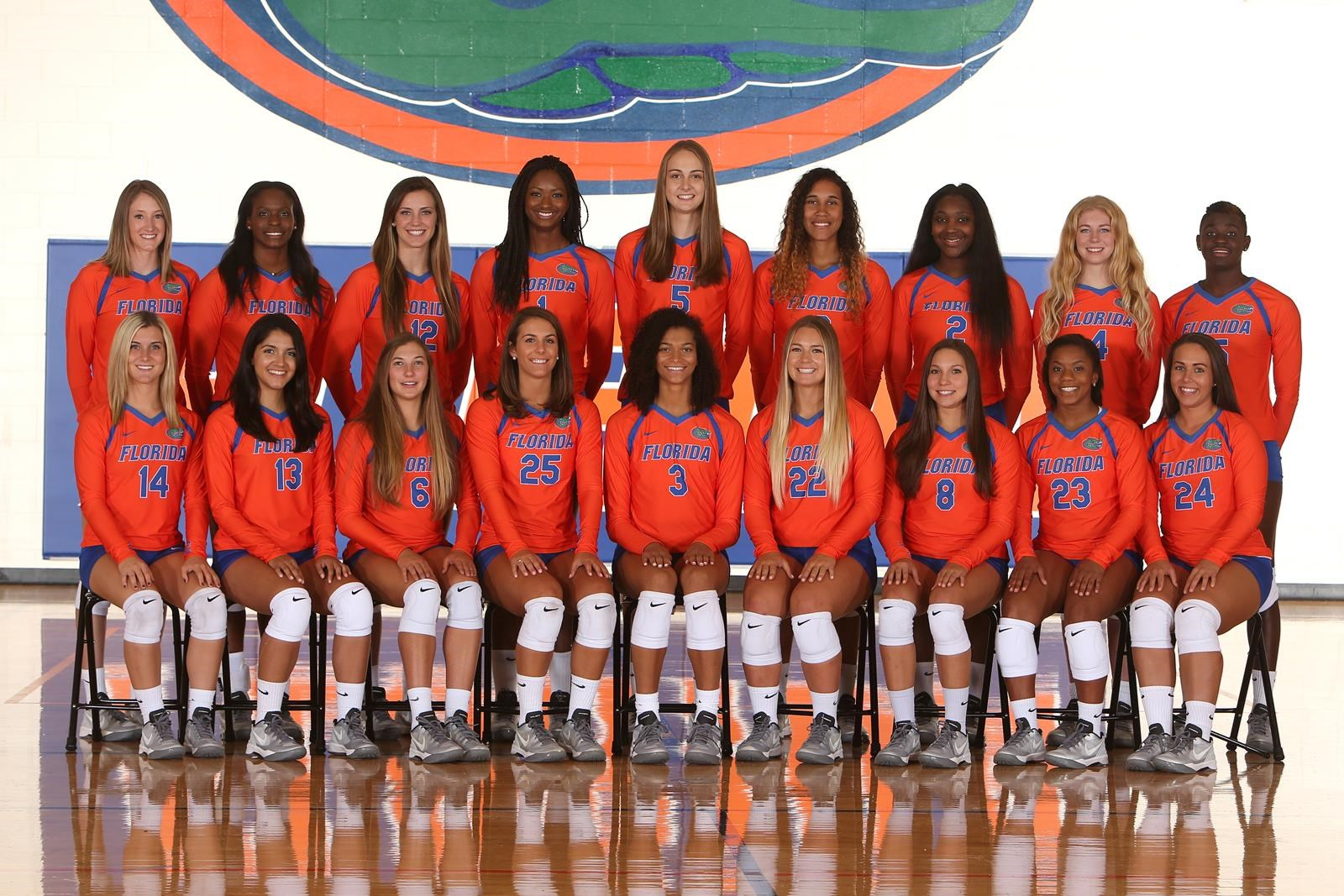 2016 Volleyball Roster Florida Gators