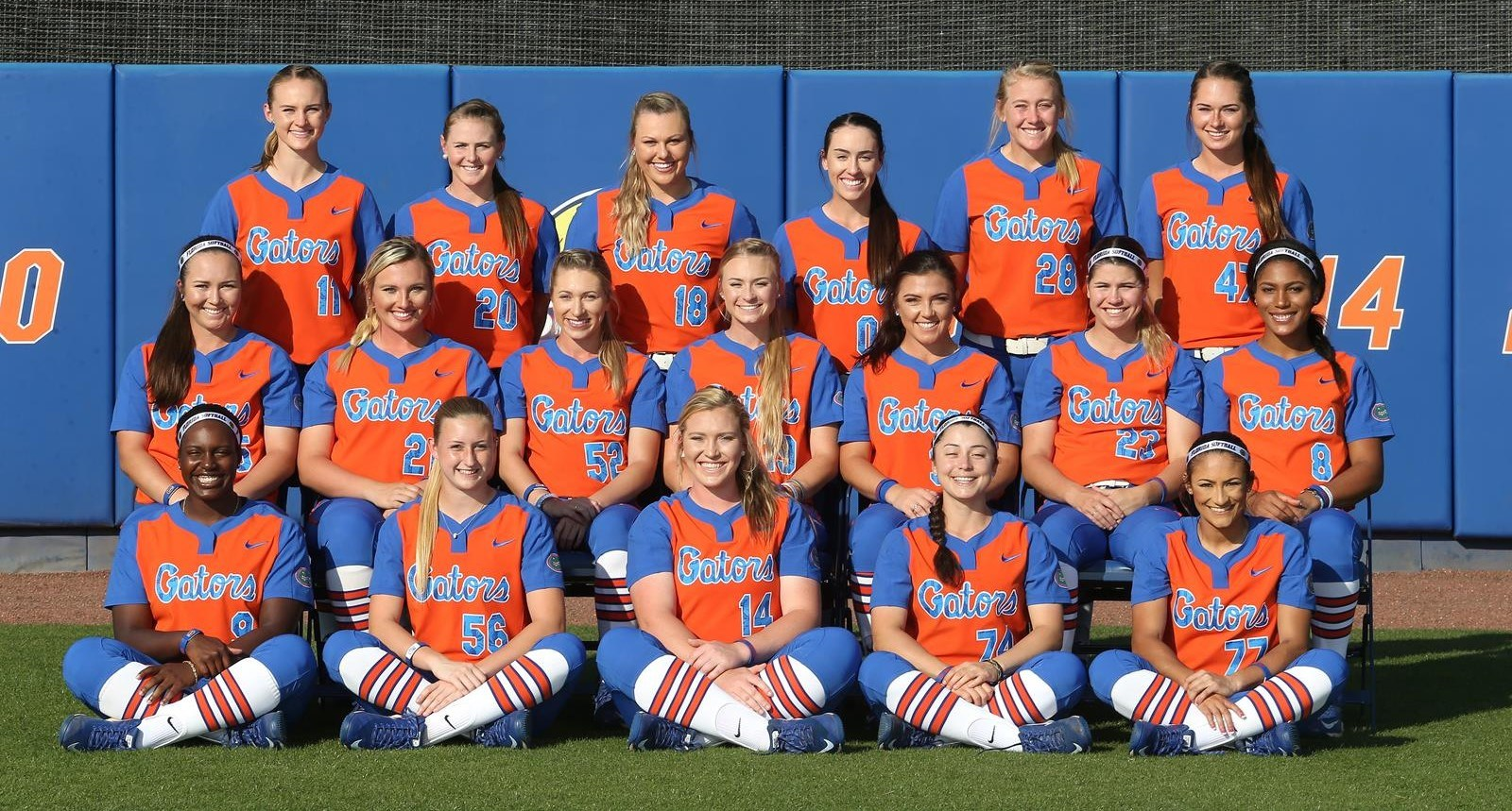 2017 Softball Roster Florida Gators