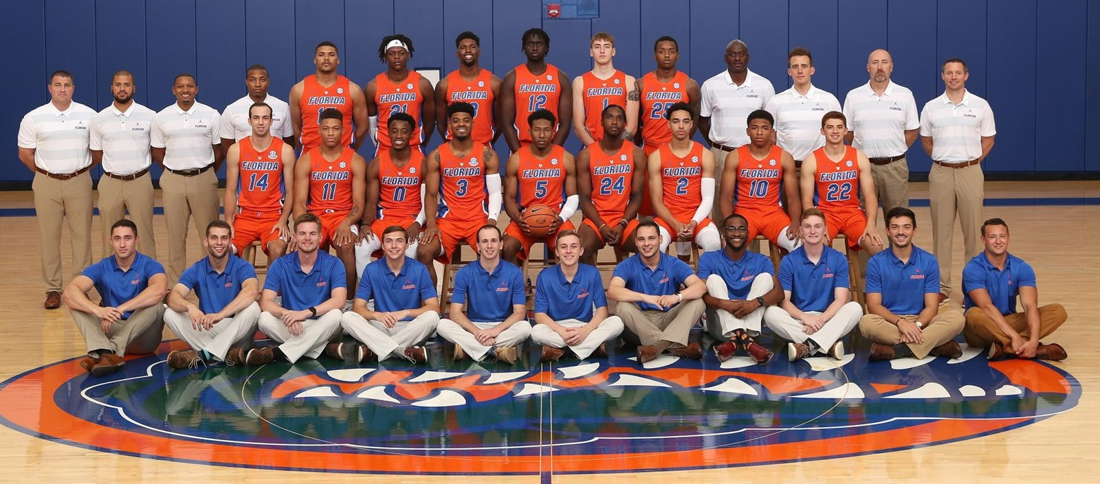 2018 19 Men S Basketball Roster Florida Gators