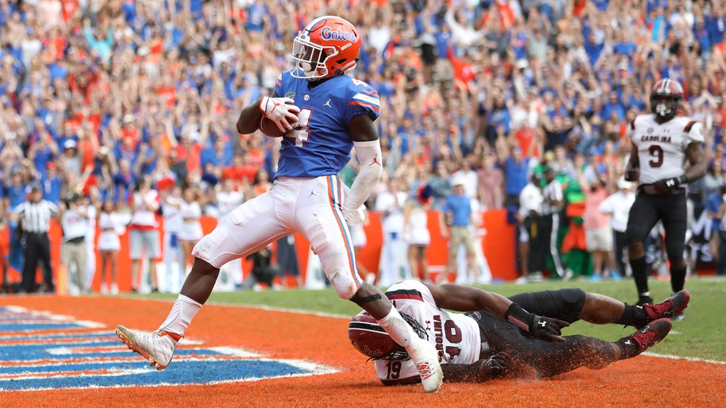 c831a2bb5e33 Gators No. 11 in Latest CFB Playoff Rankings - Florida Gators