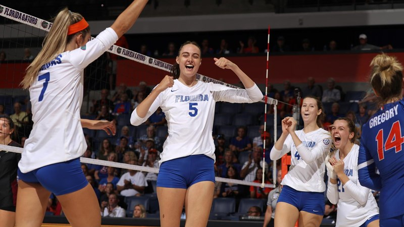 Sec Volleyball Television Schedule Unveiled Florida Gators