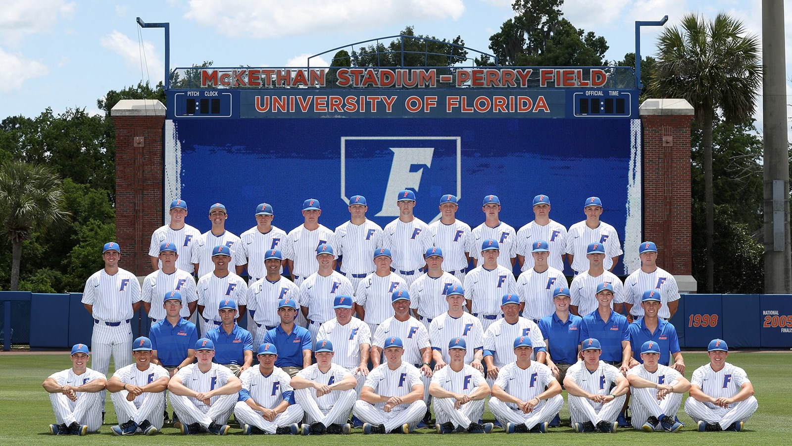 2019 Baseball Roster Florida Gators