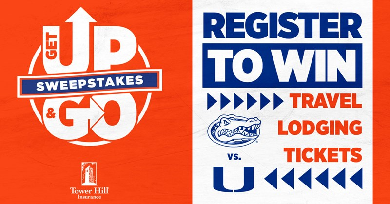 Get Up and Go Sweepstakes - Florida Gators