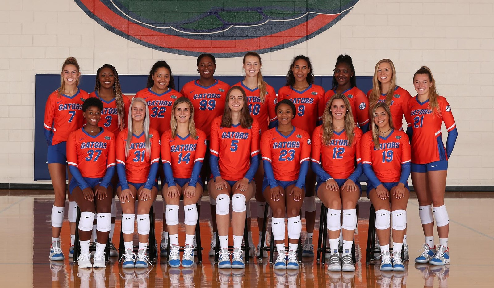 2019 Volleyball Roster Florida Gators