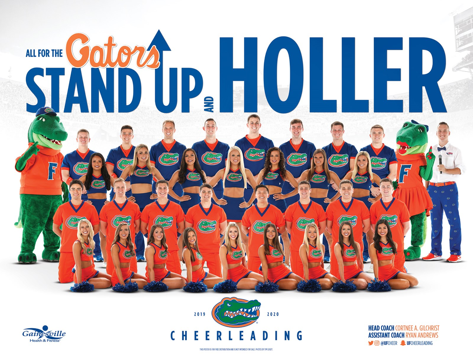 2019 20 Cheerleaders Roster Florida Gators