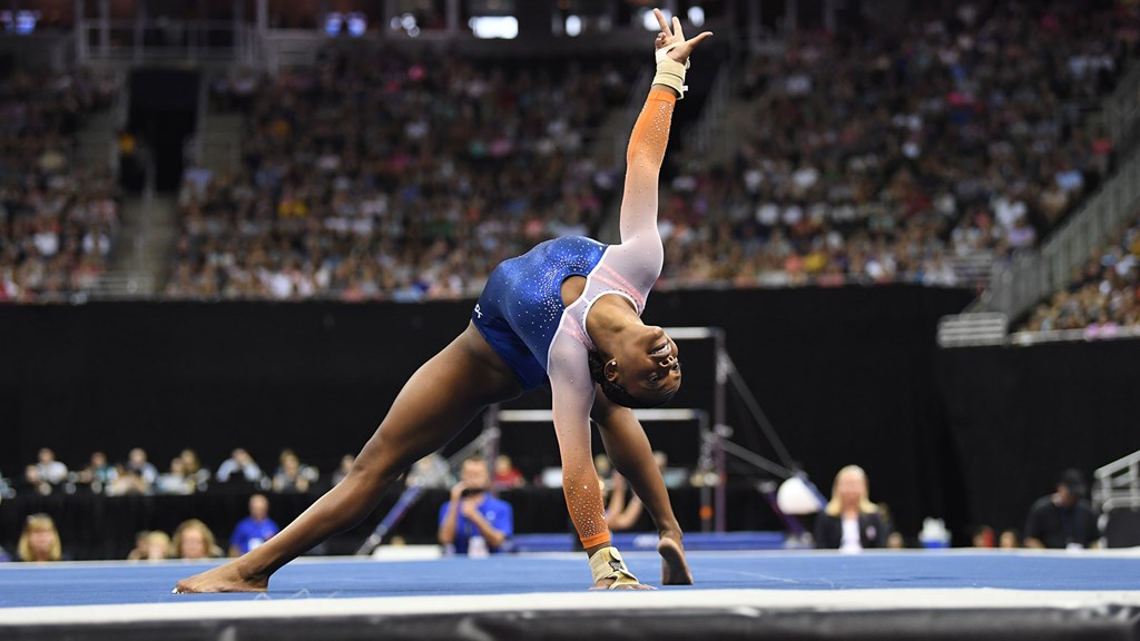 Strong Opening Day for Gator Trinity Thomas at U S  Championships
