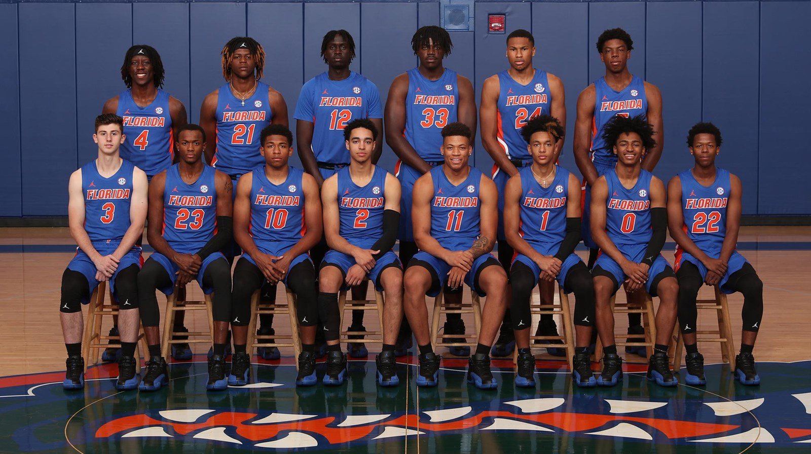 2019 20 Men S Basketball Roster Florida Gators