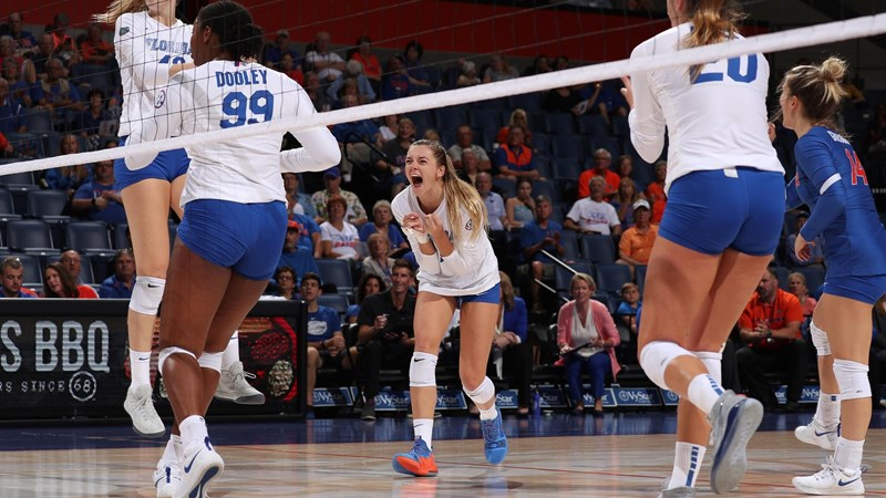 Monserez Named Sec Setter Of The Week Florida Gators