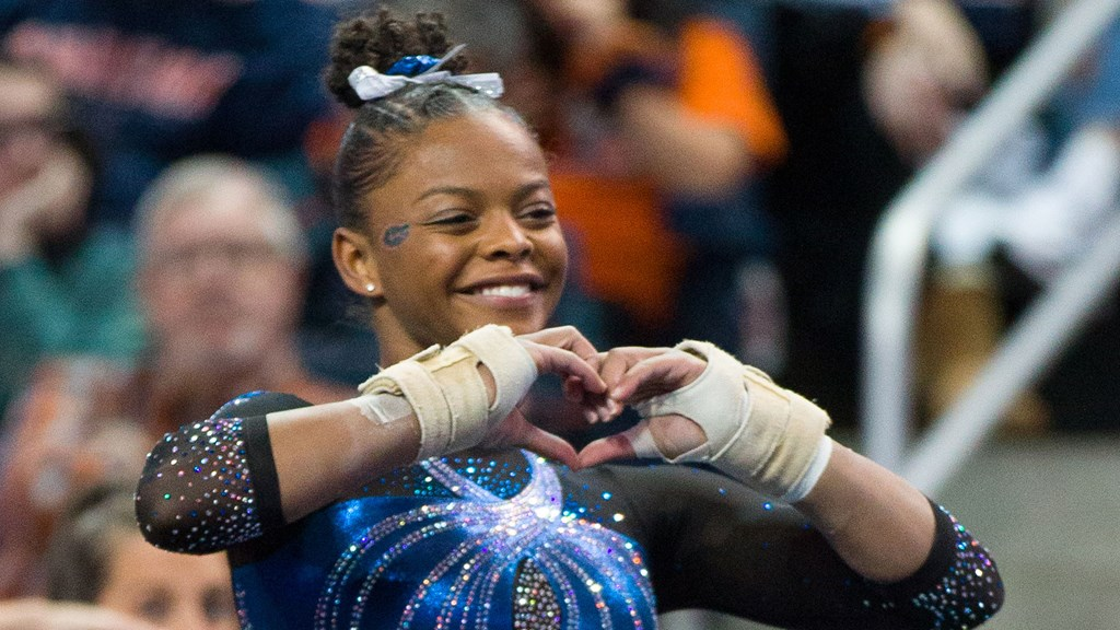 Trinity Thomas is SEC Gymnast of the Week